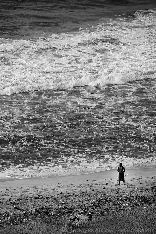 The Guy & The Gulf (monochrome)