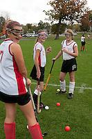Field Hockey Laconia Middle School versus Gilford Middle School October 20, 2011.