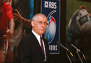 Jacques Laurans, Chairman of the Six nations Committeee, addresses the floor at the launch of the 2006, RBS Six Nations Rugby - Press Conference, hels at the  Hurlingham Club, Fulham. London ENGLAND, 25.01.2006    © Peter Spurrier/Intersport Images - email images@intersport-images.   [Mandatory Credit, Peter Spurier/ Intersport Images].
