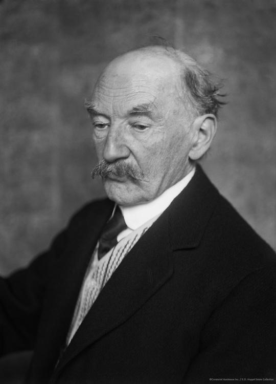 Thomas Hardy, English Novelist and Poet, 1914