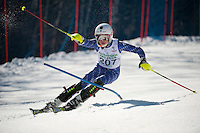Francis Piche Invitational slalom 1st run J3 at Gunstock March 18, 2012.