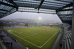 TÓRSHAVN, FAROE ISLANDS - Thursday, August 29, 2019: A general view during the UEFA Women Euro 2021 Qualifying Group C match between the Faroe Islands and Wales at Tórsvøllur Stadium. (Pic by David Rawcliffe/Propaganda)