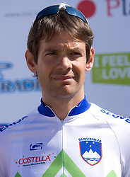 Gregor Gazvoda  (SLO) of Slovenian National Team at 1st stage of Tour de Slovenie 2009 from Koper (SLO) to Villach (AUT),  229 km, on June 18 2009, in Koper, Slovenia. (Photo by Vid Ponikvar / Sportida)