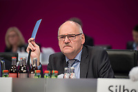 20 NOV 2017, BERLIN/GERMANY:<br /> Friedhelm Schaefer, dbb, 2. Vorsitzender, Gewerkschaftstag Deutscher Beamtenbund und Tarifunion, Estrell Convention Center<br /> IMAGE: 20171120-01-266<br /> KEYWORDS: dbb, Friedhelm Schäfer