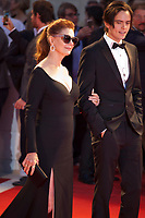 Susan Sarandon and Miles Robbins at the premiere of the film The Leisure Seeker (Ella & John) at the 74th Venice Film Festival, Sala Grande on Sunday 3 September 2017, Venice Lido, Italy.