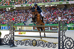 Geir Gulliksen, (NOR), Edesa S Banjan, World Champions, - Second Round Team Competition - Alltech FEI World Equestrian Games™ 2014 - Normandy, France.<br /> © Hippo Foto Team - Leanjo De Koster<br /> 25/06/14