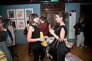 VICTORIA ALDRED; FRANCESCA DOYLE, Prints Charming Exhibition. Liberty's. London. 11 August 2009