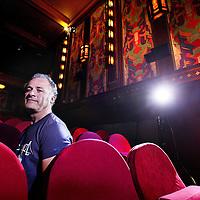Nederland, Amsterdam, 29 juni 2012..Kadir Selçuk, programmeur en directeur van bioscoop the Movies..Foto:Jean-Pierre Jans
