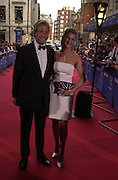 Ben Fogle and Kinvara Balfour. BAFTA Television Awards, sponsored by the Radio Times, Grosvenor House. London. 13 May 2001. © Copyright Photograph by Dafydd Jones 66 Stockwell Park Rd. London SW9 0DA Tel 020 7733 0108 www.dafjones.com