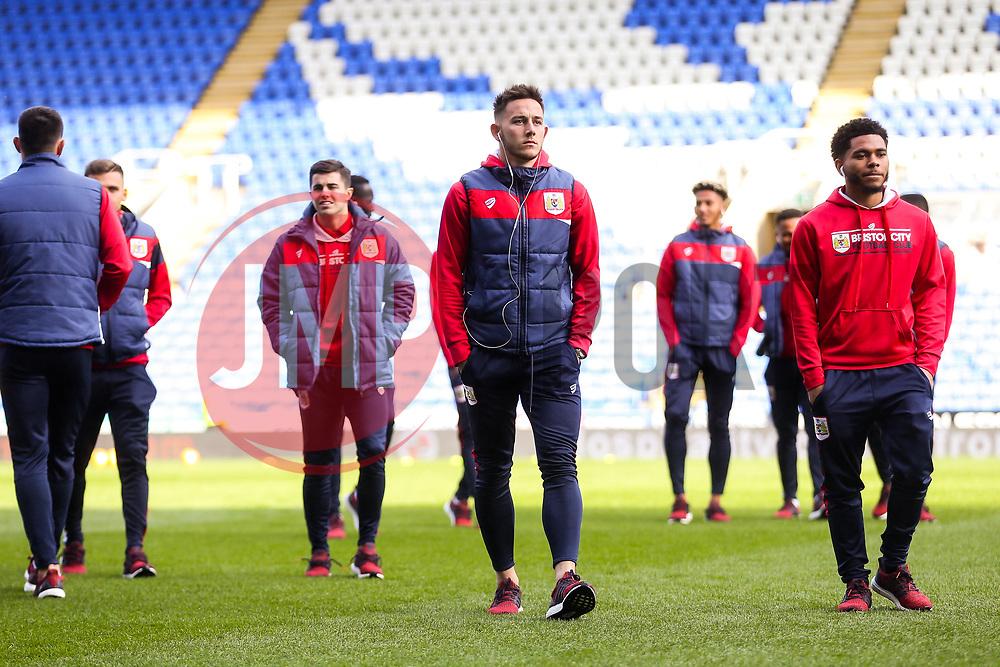 Josh Brownhill of Bristol City looks on as they arrive at the stadium - Rogan/JMP - 03/11/2018 - Madejski Stadium - Reading, England - Reading FC v Bristol City - Sky Bet Championship.