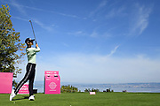 Sung Hyun Park (Kor) competes during the practice round of LPGA Evian Championship 2018, Day 1, at Evian Resort Golf Club, in Evian-Les-Bains, France, on September 10, 2018, Photo Philippe Millereau / KMSP / ProSportsImages / DPPI
