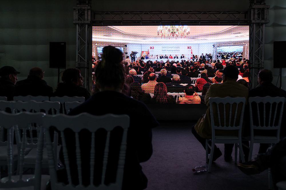 Auditions publiques de l'Instance Vérité Dignité, 18 novembre 2016.