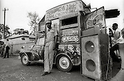 "Charlie Ace's Swing-a-Ling mobile record and  recording shop and studio - 1973 -  Run by Charley Ace, (real name Vernel Dixon) a legendary DJ in the 1970's as well as label owner of ""Swing A Ling Records"". He worked with many producers including Lee Perry & Studio One. Sadly Charley Ace was gunned down, murdered in the early 1980's."