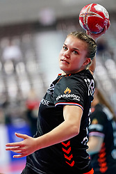 08-12-2019 JAP: Netherlands - Germany, Kumamoto<br /> First match Main Round Group1 at 24th IHF Women's Handball World Championship, Netherlands lost the first match against Germany with 23-25. / Merel Freriks #19 of Netherlands