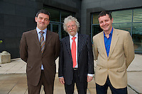 Dr. Ronan Kavanagh, Dr. Bobby Coughlan and  Dr. John Carey  at Rheumatology Toolbox : Rheumatology for General Practice Conference at the Radisson Blu Hotel , Galway. Photo:Andrew Downes