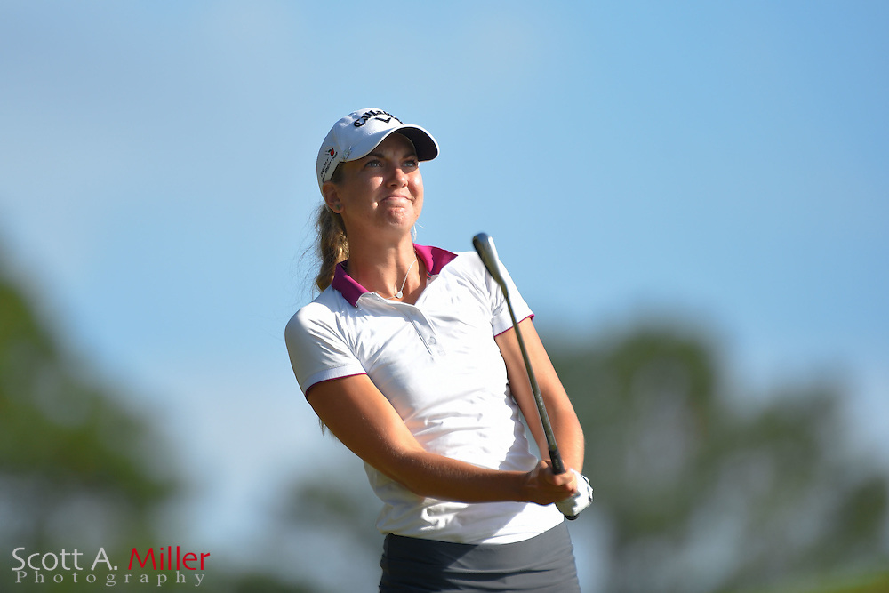 Julia Roth during the final round of the Symetra Tour Championship at Alaqua Country Club in Longwood, Florida on Oct. 15, 2016.<br /> <br /> &copy;2016 Scott A. Miller