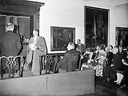 Handling over the Hugh Lane Bequest..16.02.1961