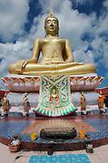 Wat Phra Yai (Big Buddha Temple).