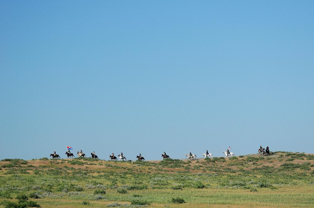 Custer's Last Stand Reenactment, Hardin, Montana, USA