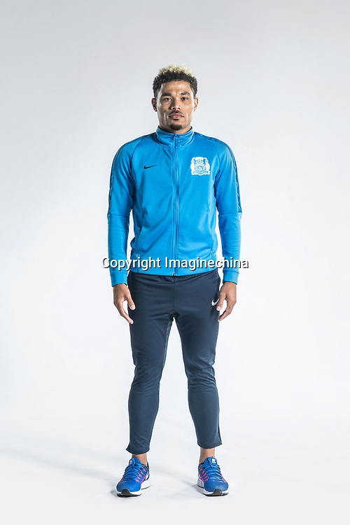 **EXCLUSIVE**Portrait of Brazilian soccer player Junior Urso of Guangzhou R&F F.C. for the 2018 Chinese Football Association Super League, in Guangzhou city, south China's Guangdong province, 23 February 2018.