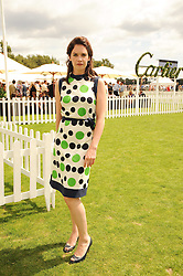 RUTH WILSON at the Cartier International Polo at Guards Polo Club, Windsor Great Park, Berkshire on 25th July 2010.