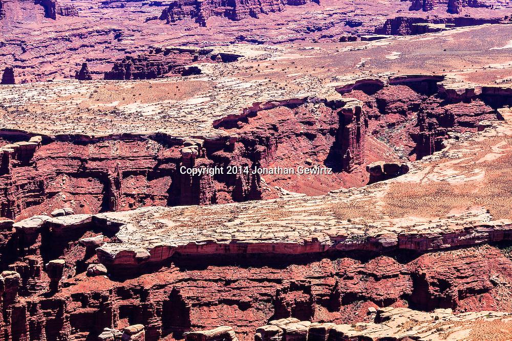 Desert landscape in Canyonlands National Park, Utah. WATERMARKS WILL NOT APPEAR ON PRINTS OR LICENSED IMAGES.