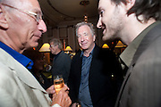 ALAN RICKMAN; The after party following the Vaudeville Theatre press night of 'I Bought a Blue Car Today', at The Waldorf Hilton Hotel. Aldwych. London. 2 September 2009.