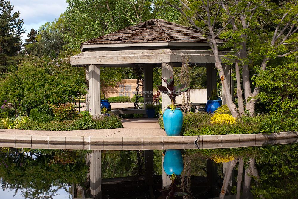 Water Garden Gazebo, May