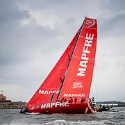 © Maria Muina I MAPFRE. Gothenburg In Port Race. Regata costera en Gotemburgo.