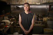 The master of the ramen restaurant