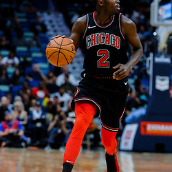 Jan 22, 2018; New Orleans, LA, USA; Chicago Bulls guard Jerian Grant (2) against the New Orleans Pelicans during the second quarter at  the Smoothie King Center. Mandatory Credit: Derick E. Hingle-USA TODAY Sports