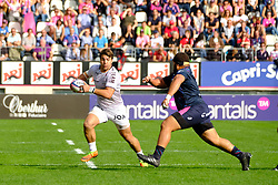 September 24, 2017 - Paris, France - The RCT Flanker Facundo Isa in action during The French Rugby Championship Top14 Stade Francais vs Rugby Club Toulonnais at The Jean Bouin Stadium in Paris - France.RCT won 15-19 (Credit Image: © Pierre Stevenin via ZUMA Wire)