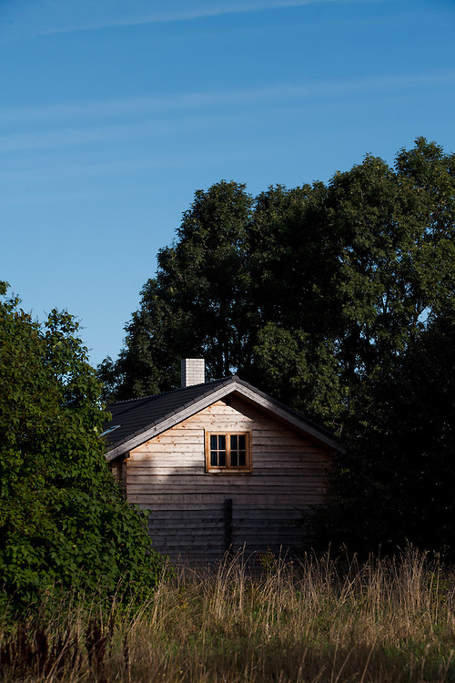 Swedish style buildings near the Poosaspea Peninsula