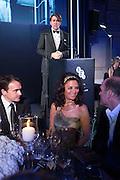 JONATHAN ROSS BEHIND; RENA KIRDAR, Luminous -Celebrating British Film and British Film Talent,  BFI gala dinner & auction. Guildhall. City of London. 6 October 2015.