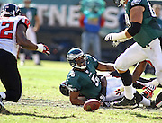 Game between the Philadelphia Eagles and the Atlanta Falcons at Lincoln Financial Field in Philadelphia, Pennsylvania on October 26, 2008.