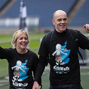 EDIN Kiltwalk - The Murrayfield finish