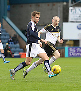 Dundee&rsquo;s Greg Stewart and Aberdeen&rsquo;s Willo Flood - Dundee v Aberdeen, Ladbrokes Scottish Premiership at Dens Park<br /> <br />  - &copy; David Young - www.davidyoungphoto.co.uk - email: davidyoungphoto@gmail.com