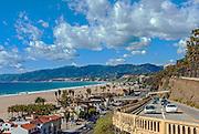 California Incline in Santa Monica, Landmark,Santa Monica Incline, Southern California,