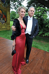 SABRINA GUINNESS and CHARLES FINCH at the Raisa Gorbachev Foundation fourth annual fundraising gala dinner held at Stud House, Hampton Court, Surrey on 6th June 2009.