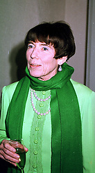 LADY ROTHSCHILD at a reception in London on 17th April 2000.OCX 44