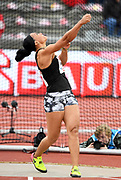 Yaime Perez (CUB) places second in the women's discus at 213-6 (65.09m) during the Bauhaus-Galan in a IAAF Diamond League meet at Stockholm Stadium in Stockholm, Sweden on Thursday, May 30, 2019. (Jiro Mochizuki/Image of Sport)