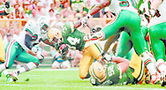 (Published caption 7/27/97) The Packers will have to overcome a season-ending injury to a key player again. Last year, it was flanker Robert Brooks in Game 7; this season, it's Edgar Bennett (34), who tore his left Achilles' tendon Saturday.