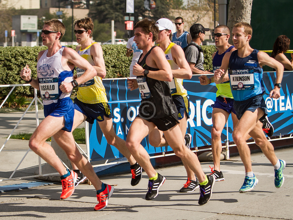 USA Olympic Team Trials Marathon 2016, BAA, Harvey, Fischer, Vassallo,