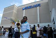 16 August 2008 - Chicago, Illinois - Marcus Everett, .son of Bernie Mac's cousin leaving the venue.Bernie Mac Public Memorial.Venue: House of Hope, 752 E 114th St, Chicago, IL, 12pm. Photo Credit: Heather A. Lindquist/Sipa.