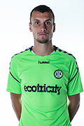 Forest Green Rovers Haydn Hollise during the 2018/19 official team photocall for Forest Green Rovers at the New Lawn, Forest Green, United Kingdom on 30 July 2018. Picture by Shane Healey.