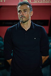 September 11, 2018 - Elche, Alicante, Spain - Luis Enrique coach of Spain during the UEFA Nations League football match between Spain and Croatia at Martinez Valero Stadium in Elche on September 11, 2018  (Credit Image: © Sergio Lopez/NurPhoto/ZUMA Press)