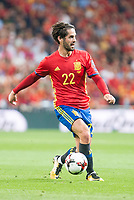 Spain's Fernando Alarcon 'Isco' during match between Spain and Italy to clasification to World Cup 2018 at Santiago Bernabeu Stadium in Madrid, Spain September 02, 2017. (ALTERPHOTOS/Borja B.Hojas)