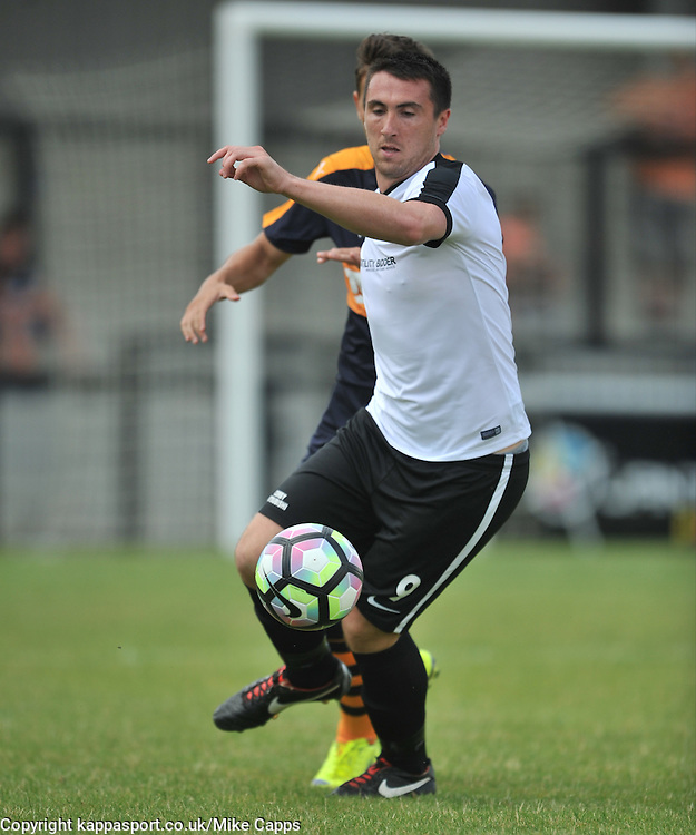 CALLUM BALL  CORBY TOWN, Corby Town v Newcastle Utd X11, Steel Park Cup, Steel Park 23rd July 2016Corby Town v Newcastle Utd X11, Steel Park Cup, Steel Park 23rd July 2016