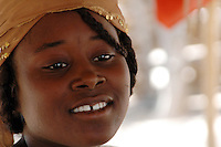 Niger, Agadez, Tidene, 2007. For this young Tuareg girl, there are few opportunities to change her lifestyle or receive meaningful education from the government.