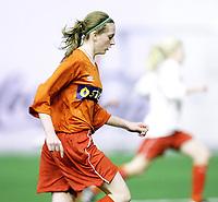 Fotball , <br /> NFF Talentsamling ,   <br /> Jenter 1994<br /> 15.11.08 , <br /> Østfoldhallen , <br /> Andrea S. Thun , <br /> Foto: Thomas Andersen / Digitalsport